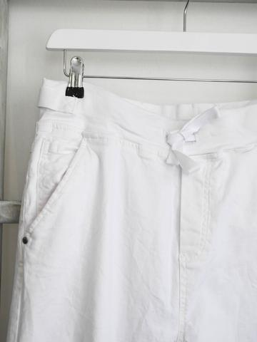 Melly & Co Jogger Jean - White