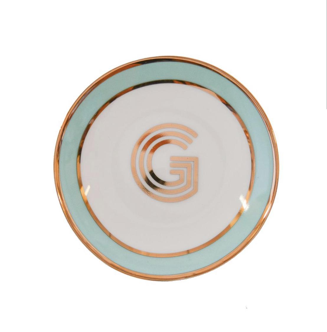 Bombay Duck Alphabet Trinket Dish - G