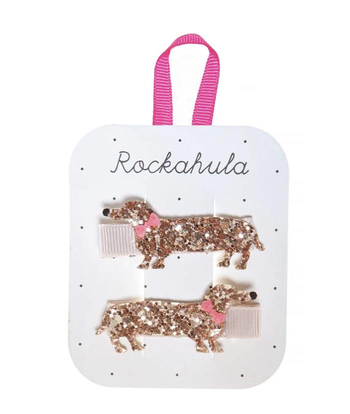 Rockahula Sausage Dog Hair Clips