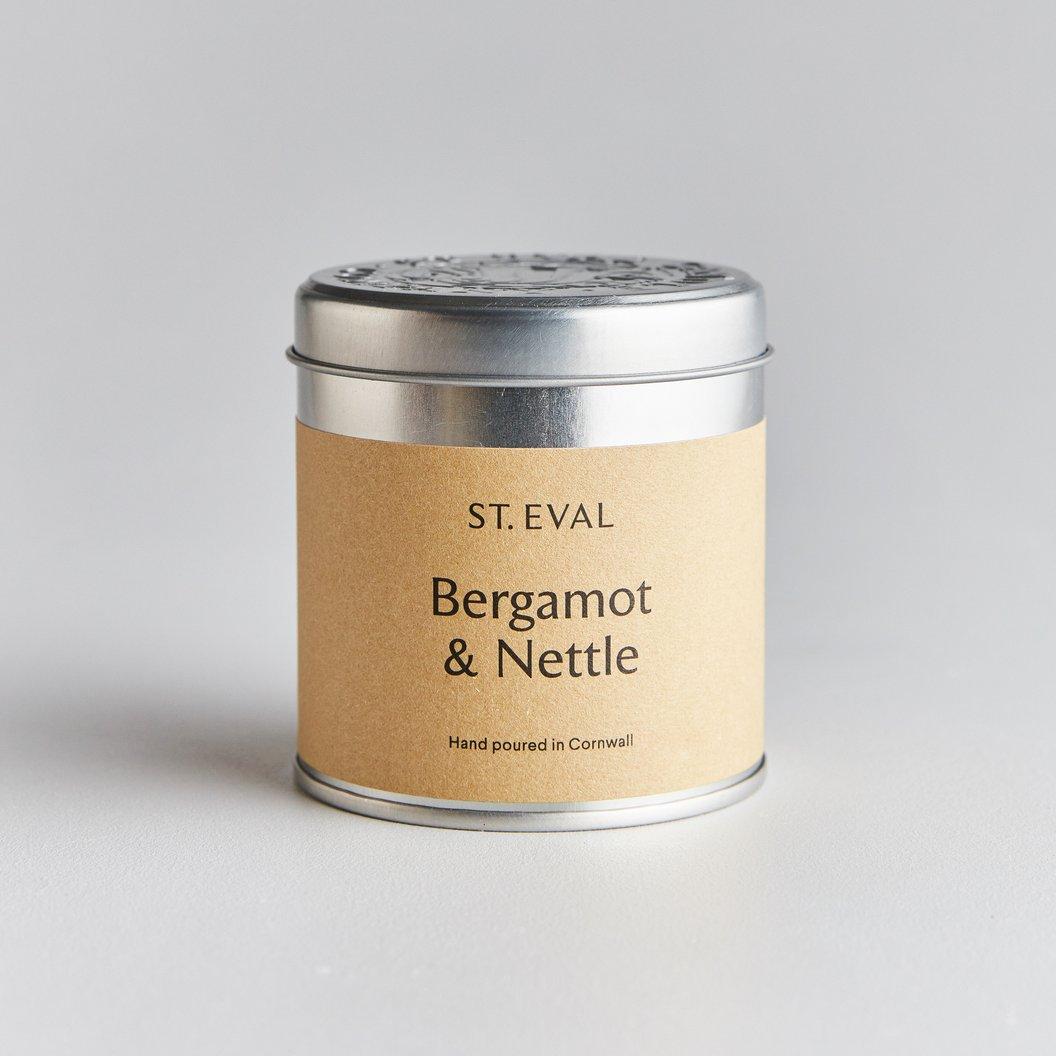 St Eval Candle Tin - Bergamot & Nettle