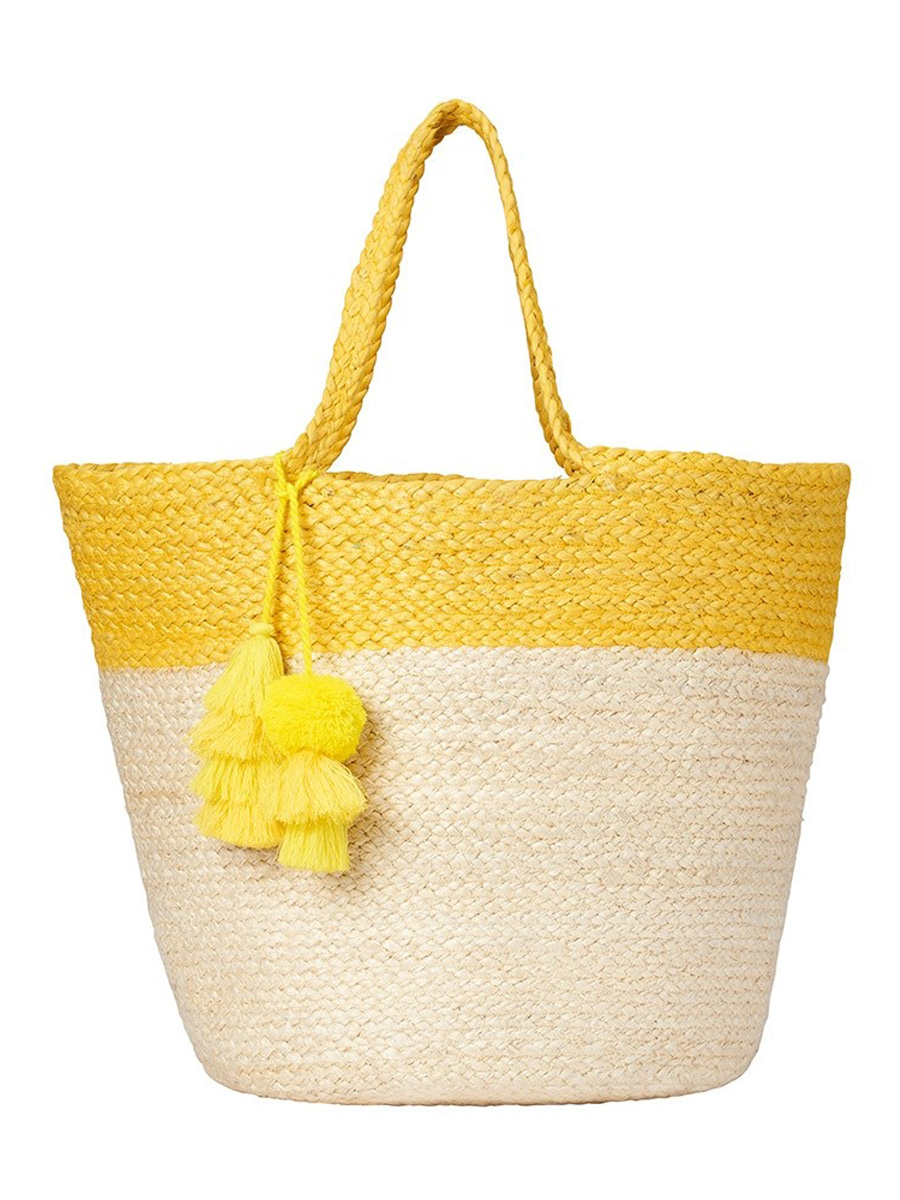 Beach Bag - Ashiana Alba Yellow