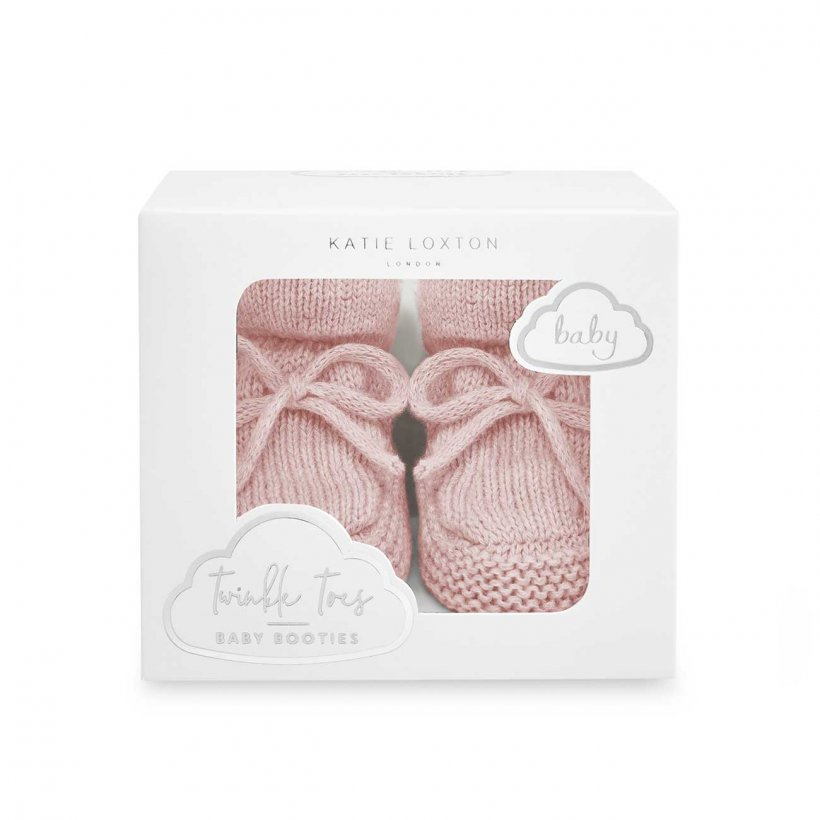 Katie Loxton Baby Booties - Pink