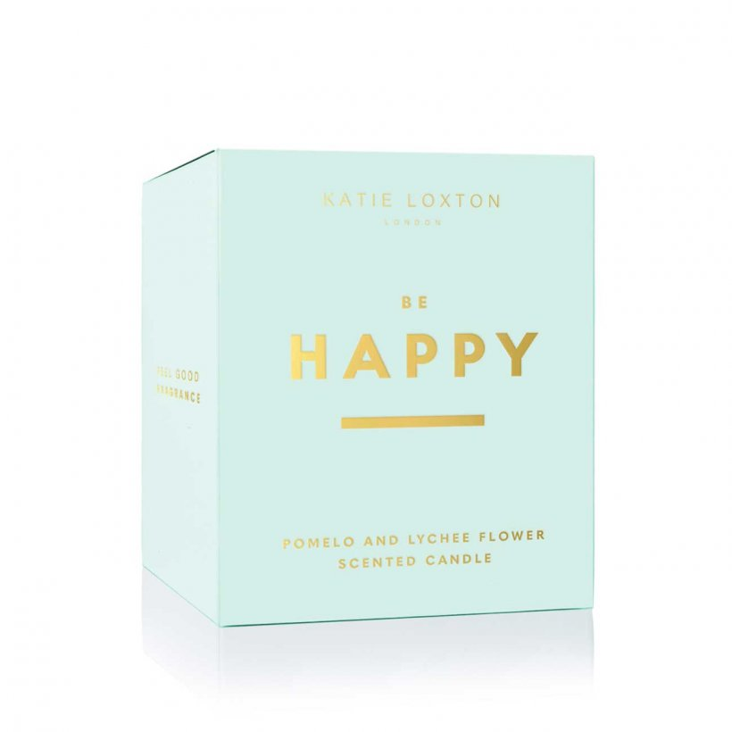 Katie Loxton Candle - NEW Be Happy
