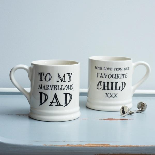 Mug Sweet William - Marvellous Dad / Favourite Child