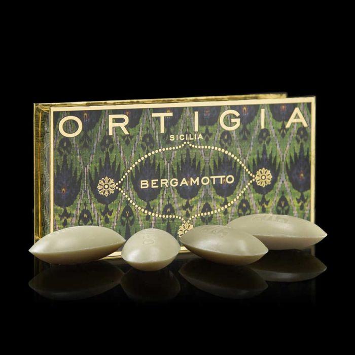 Ortigia Soap - Bergamotto -Box of 4