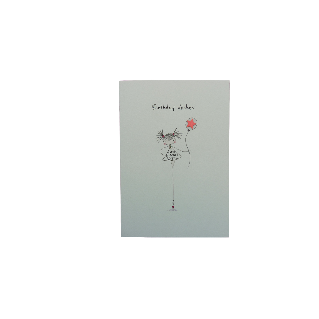 Card Female Bexy Boo - Birthday Wishes PP20