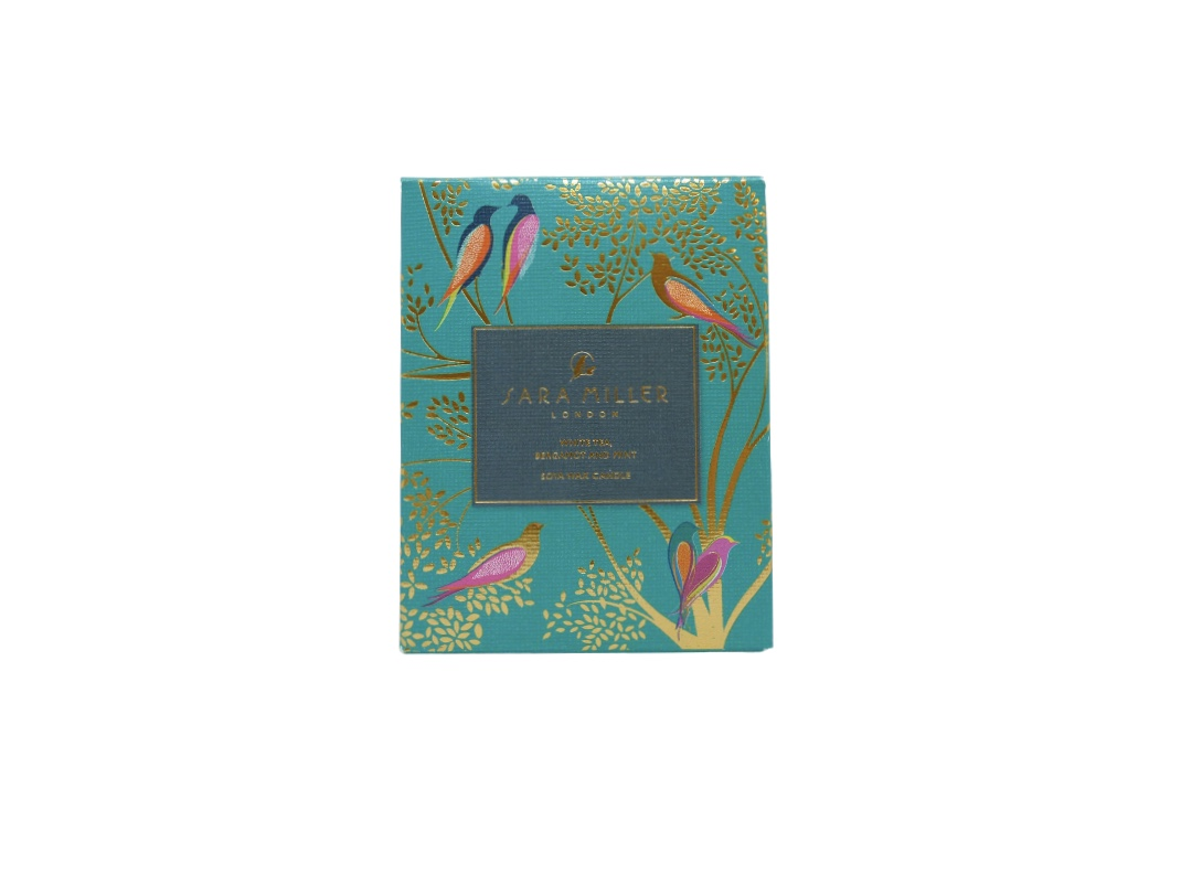 Sara Miller Candle - White Tea, Bergamot & Mint