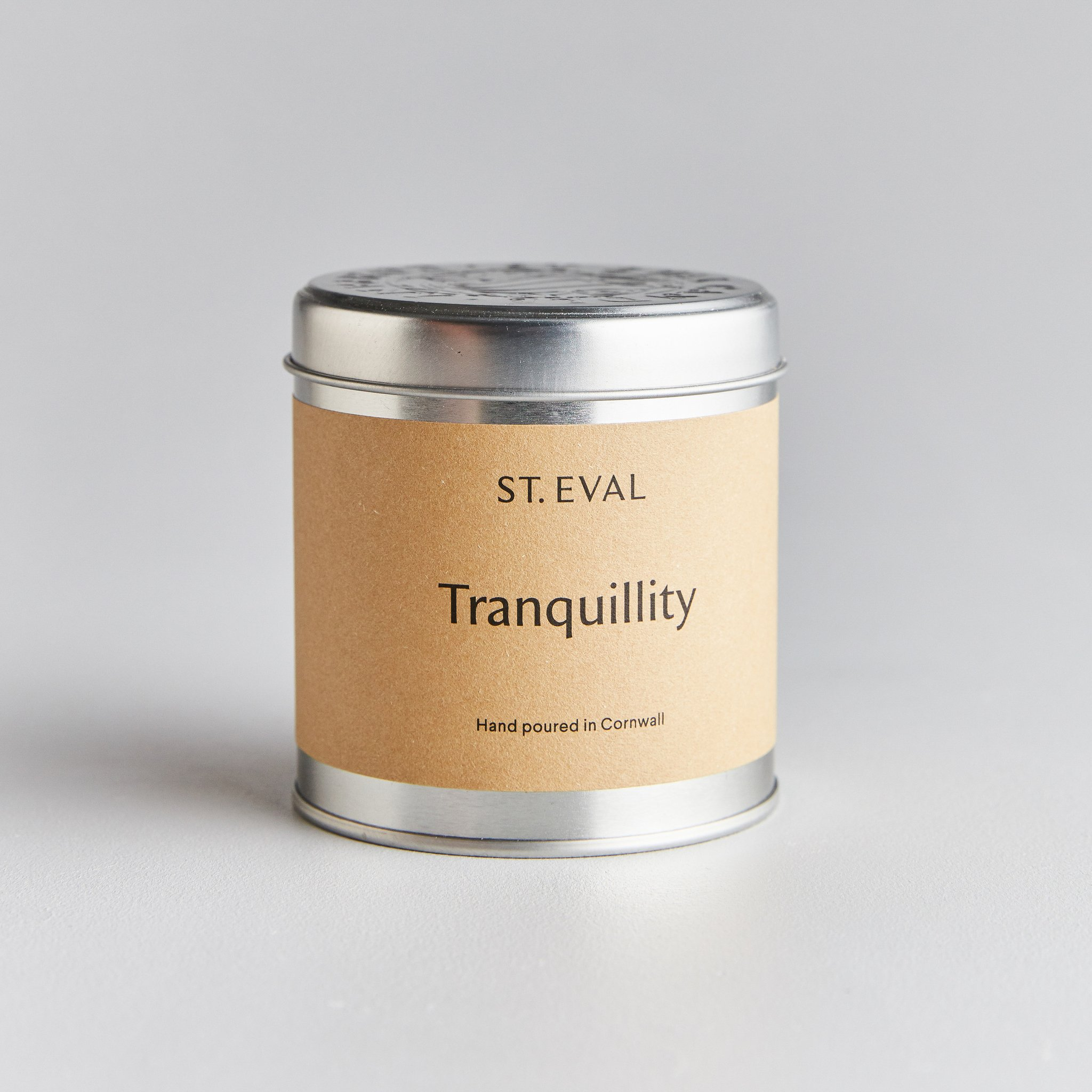St Eval Candle Tin - Tranquility