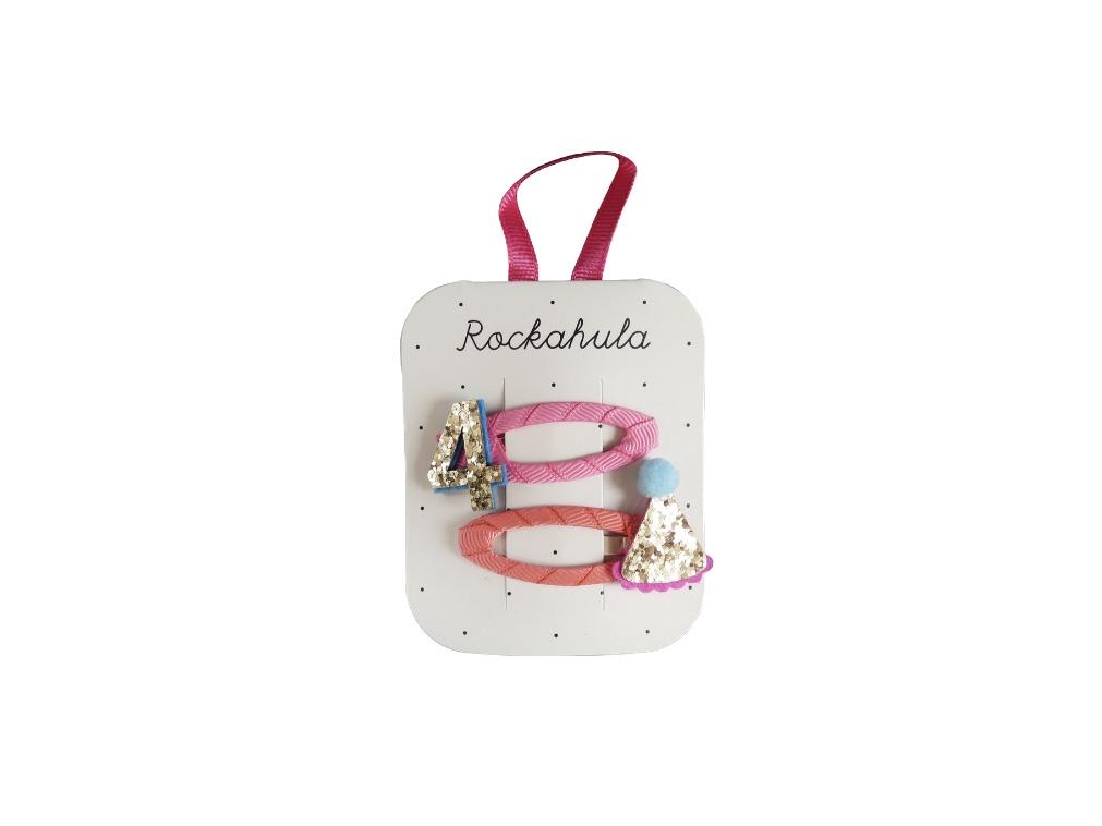 Rockahula Birthday Hair Clips - 4