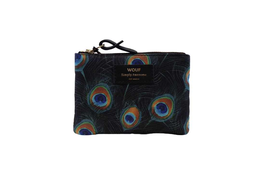 Wouf Pouch - Peacock Small