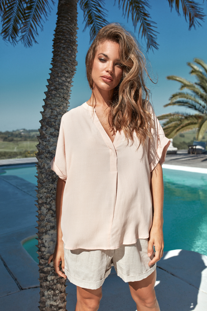 Eb&Ive Top Savannah Blush