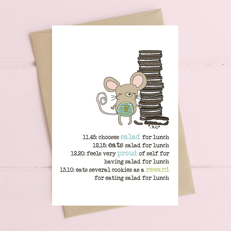 Card Female Dandelion - Cookie Reward 775