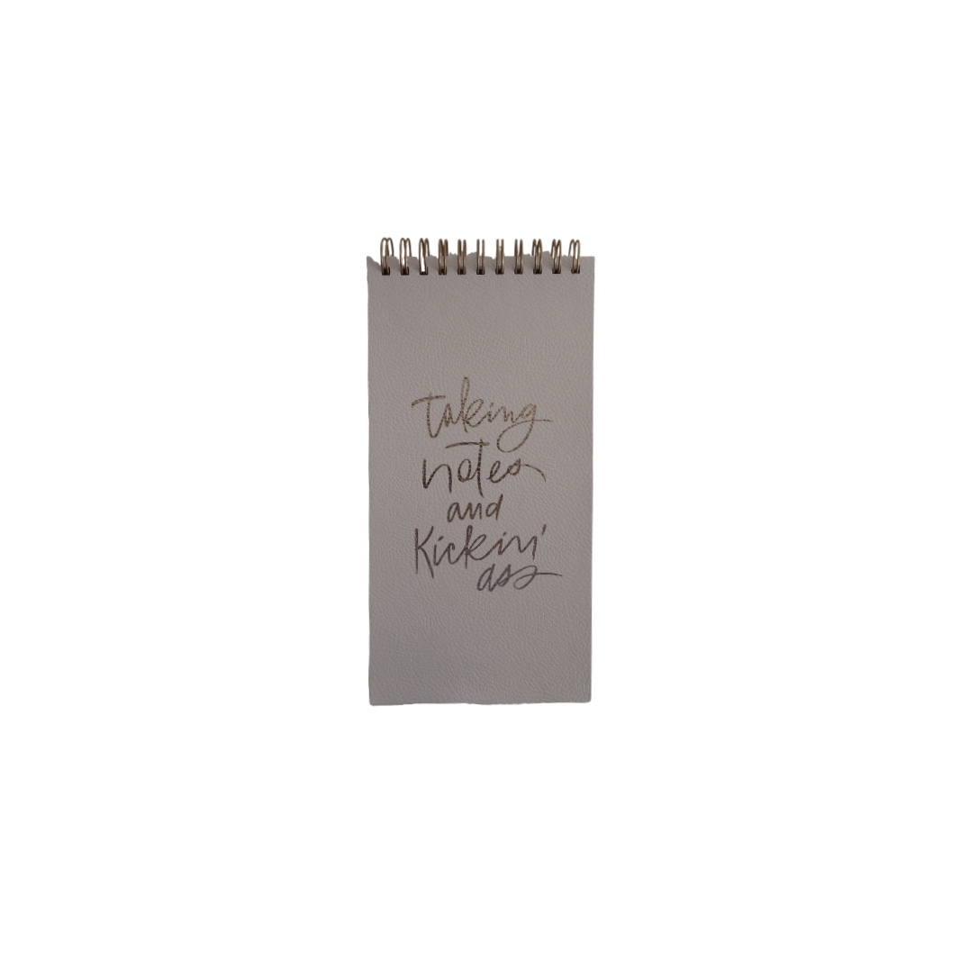 """Fringe Spiral Note Pad - 'Taking Notes and Kicking Ass"""""""