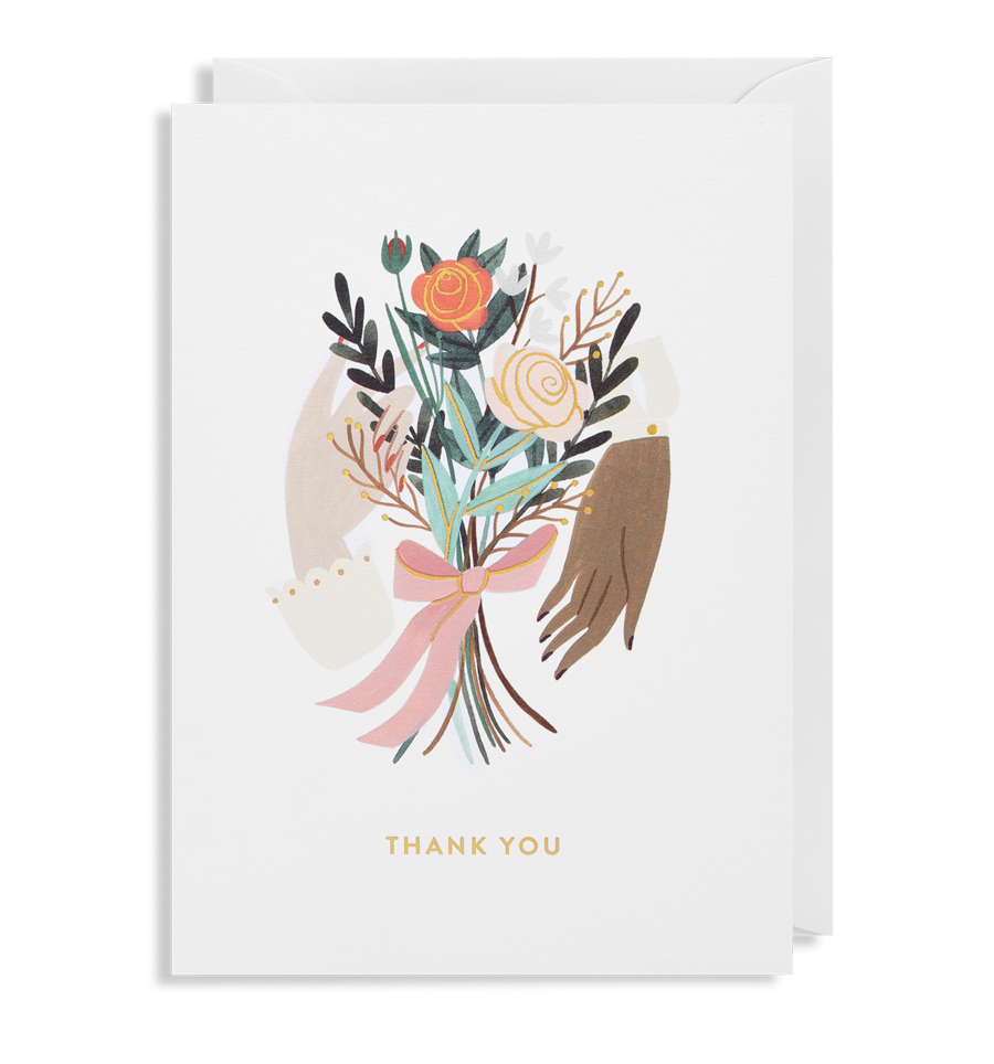 Card Thank You Lagom - Flowers 6487