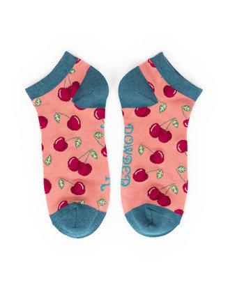 Powder Trainer Socks - Cherry Candy L