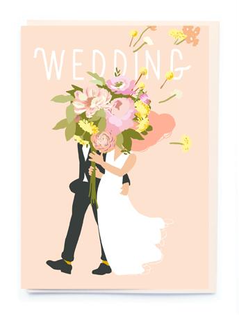 Card Wedding Noi - Wedding Bouquet