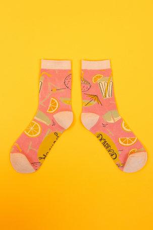 Powder Ankle Socks - Cocktails