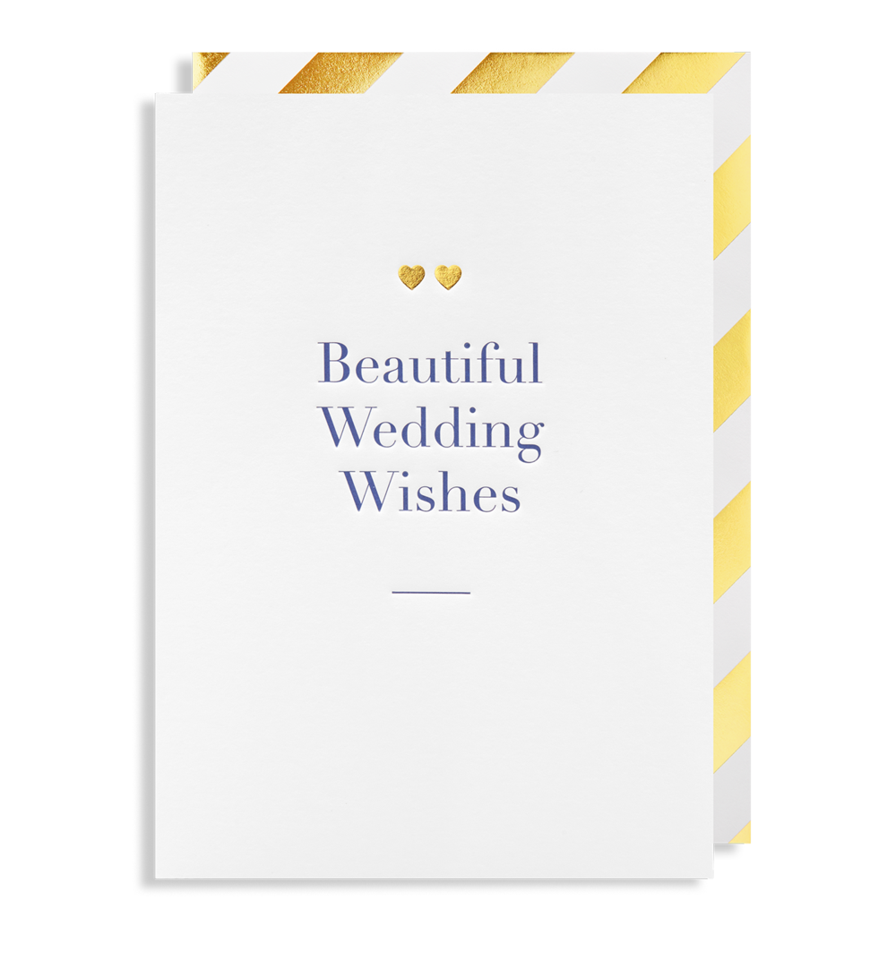Card Wedding Lagom - Beautiful Wedding Wishes 6033