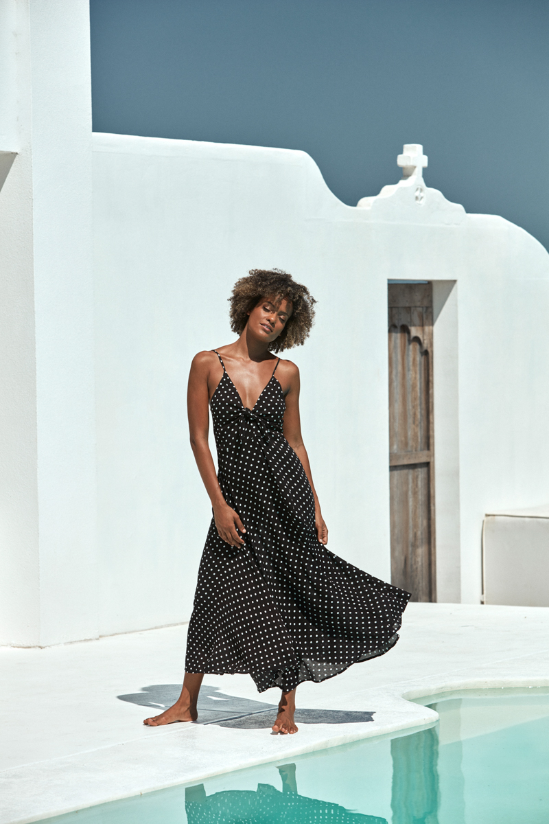 Eb&Ive Zuma Maxi Dress Black