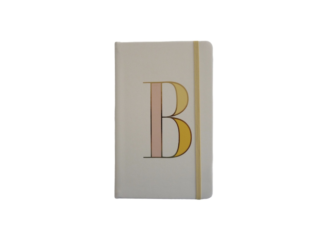 Kate Spade Alphabet Hardback Notebook - B