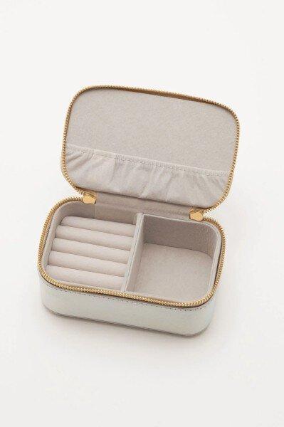 Estella bartlett Jewellery Box Mini - Applique 'LOVE' Iridescent /Coral/Blush