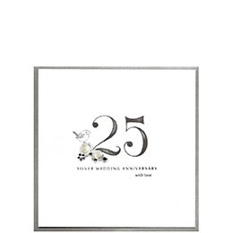 Card Anniversary CAitch - Silver Wedding P64