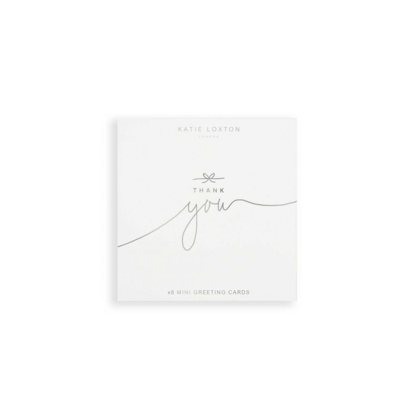 Card Thank You Katie Loxton - Thank You Mini Cards Pack of 8