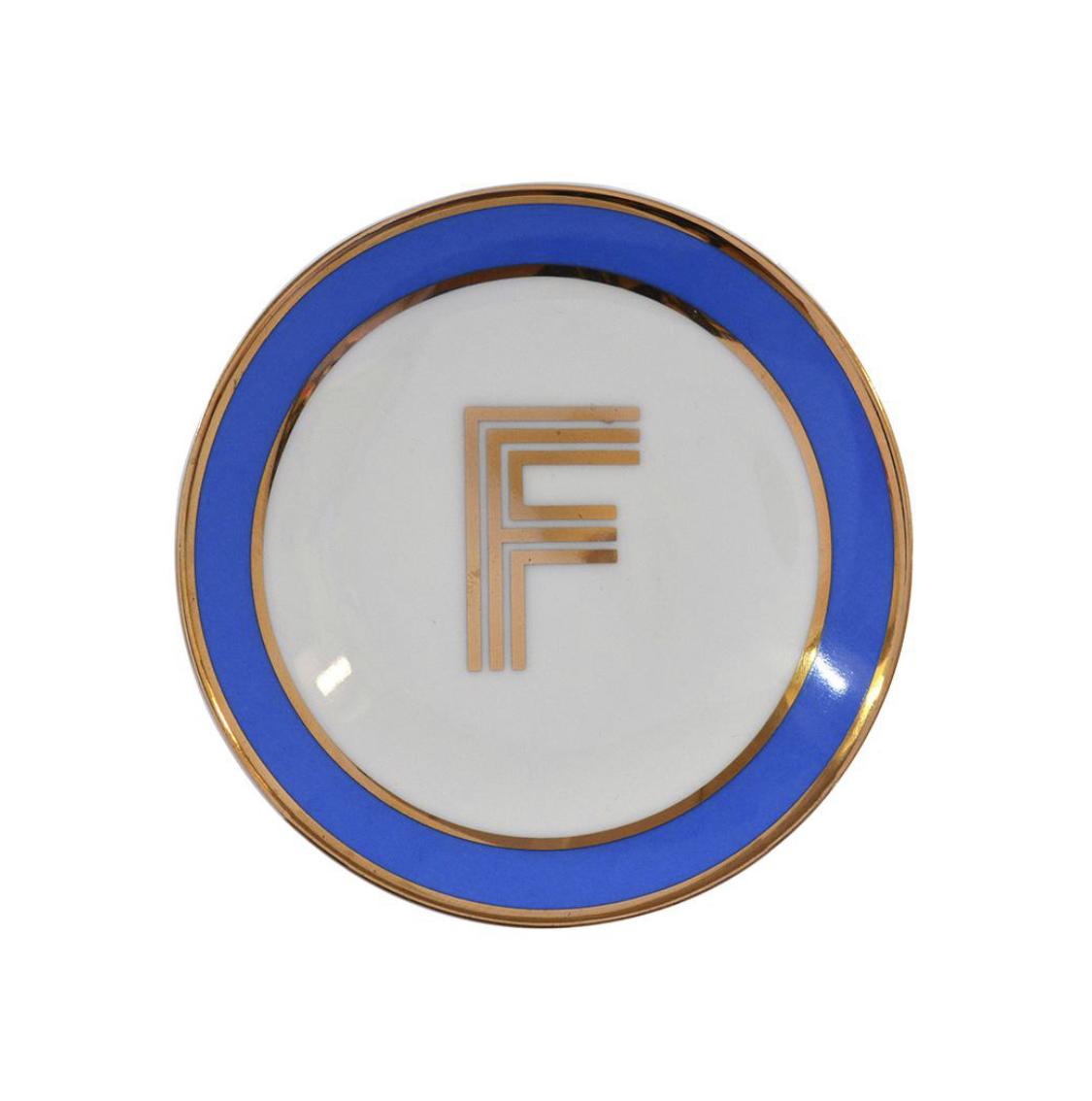 Bombay Duck Alphabet Trinket Dish - F