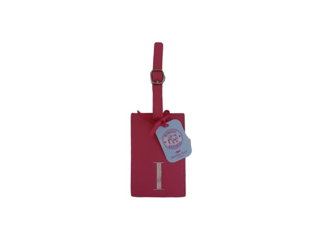 Bombay Duck Alphabet Luggage Tag - I