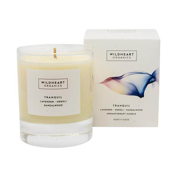 Wildheart Organics Spa Candle - Tranquil