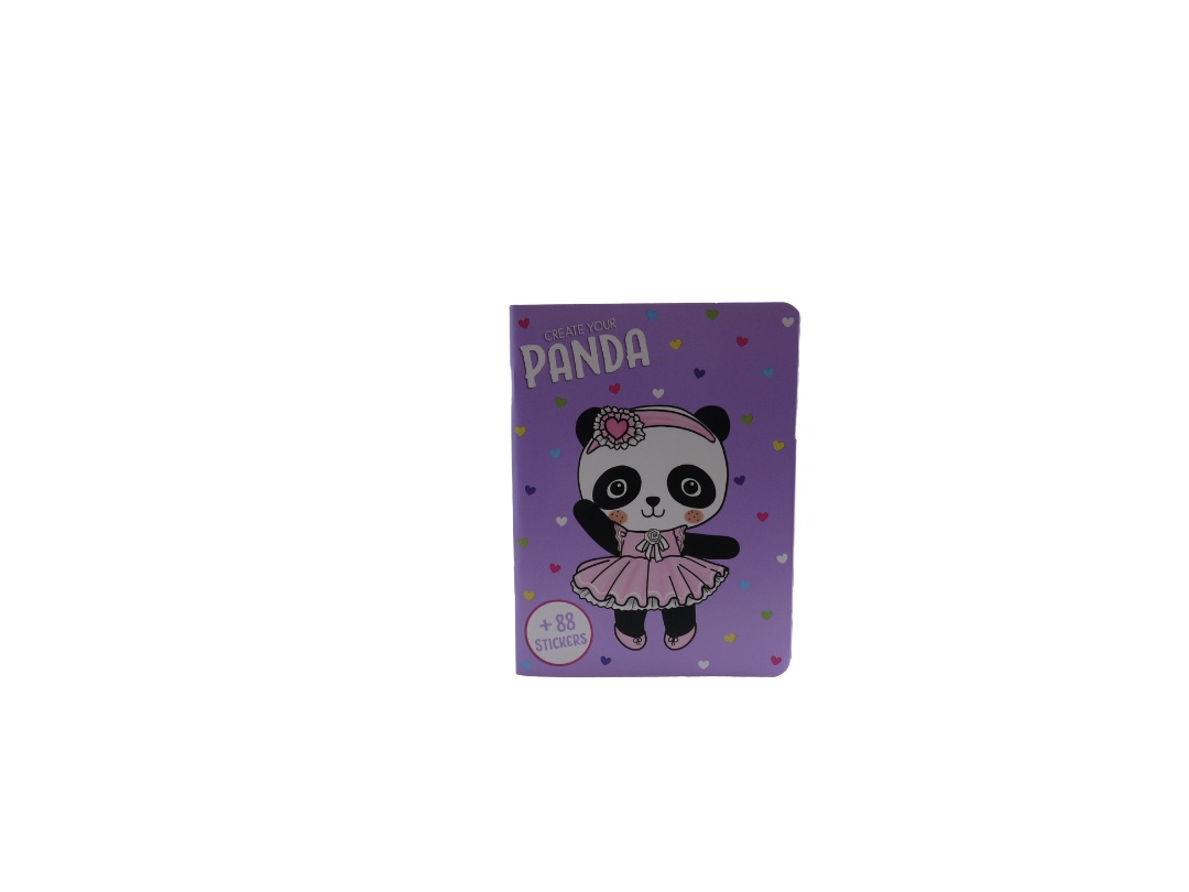 Pocket Create Your Panda Sticker Book