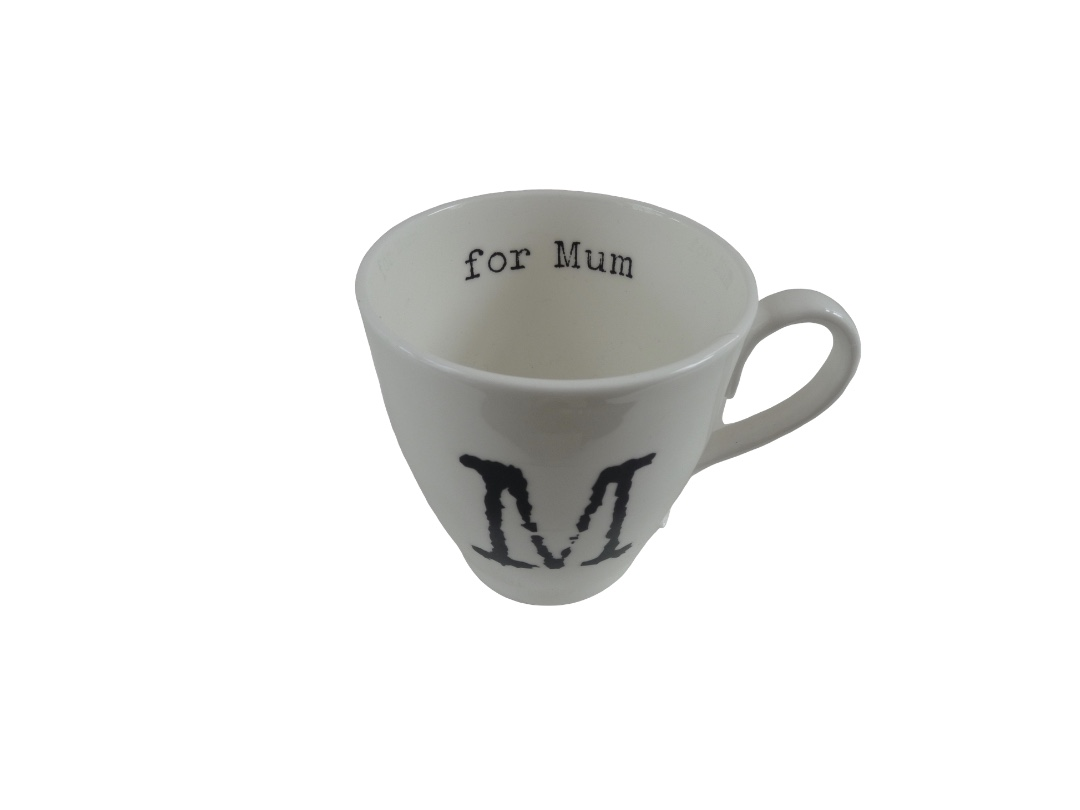Glorious Mud Alphabet Mug - Mum