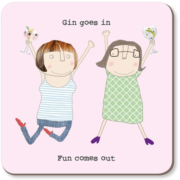 Coaster Rosie - Gin Goes In 005