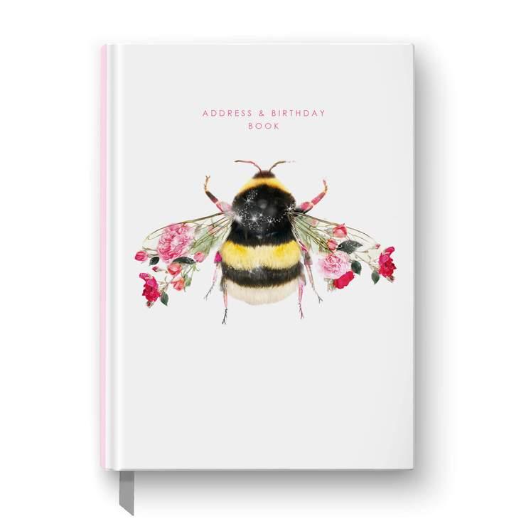 Address & Birthday Book - Bee