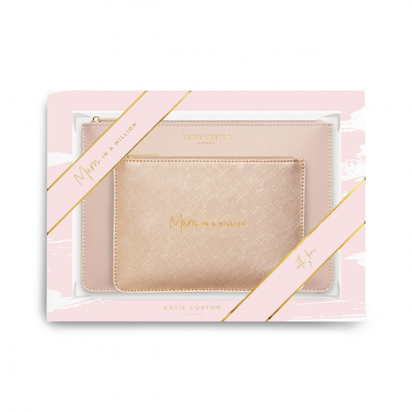 Katie Loxton Perfect Pouch Gift Set - Mum in a Million KLB766