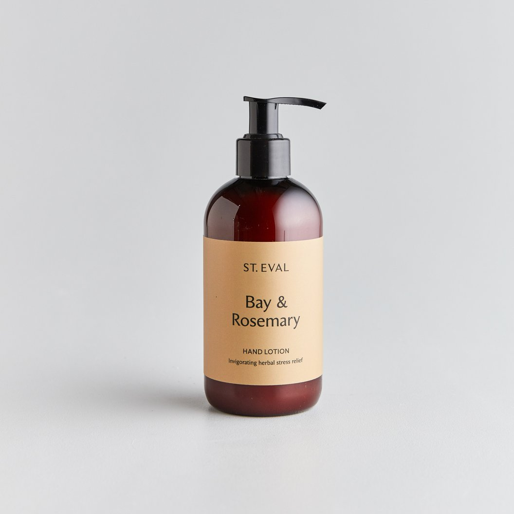 St Eval Hand Lotion - Bay & Rosemary