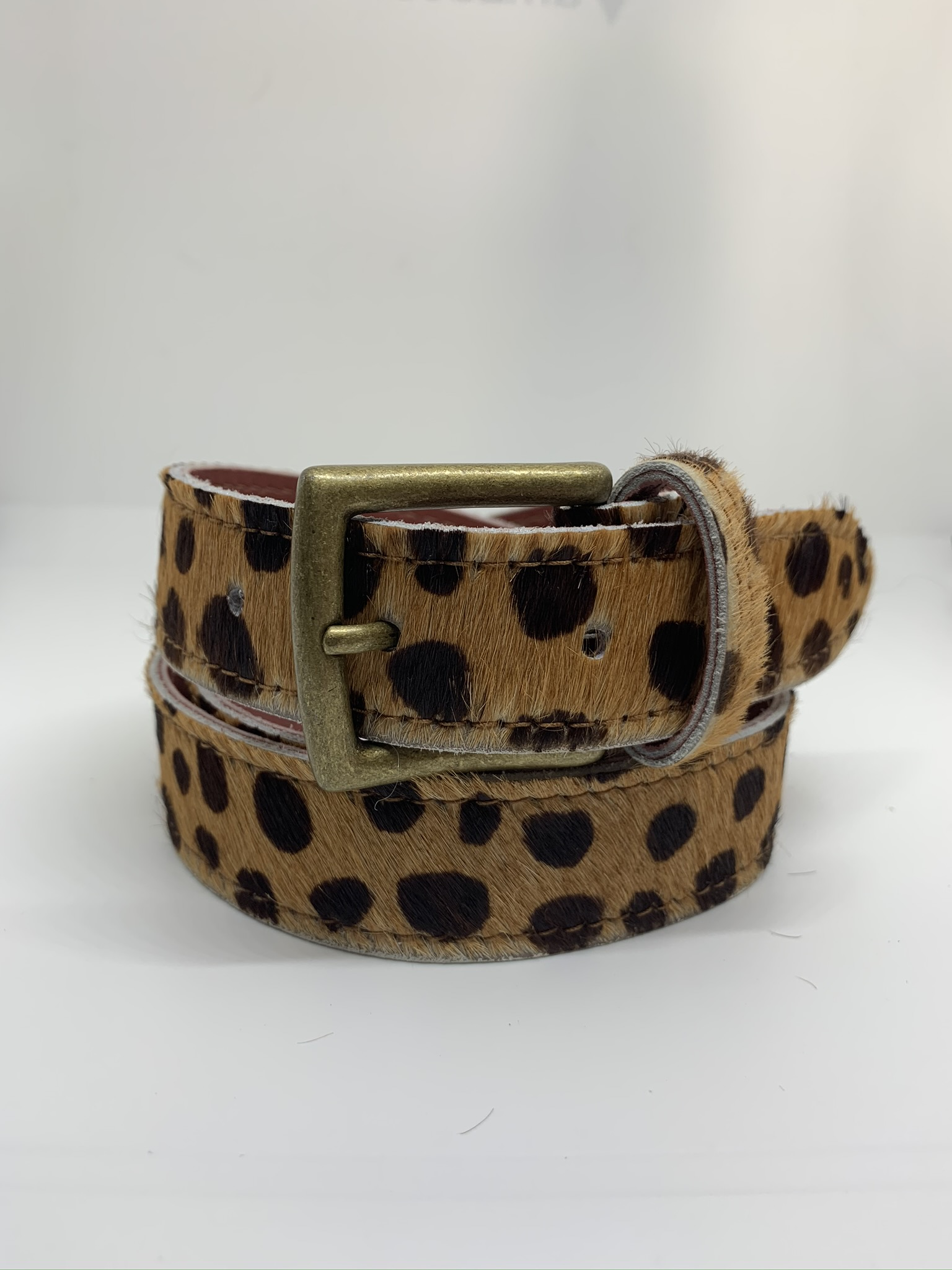 Leather Belt - Animal ( 4 colours )
