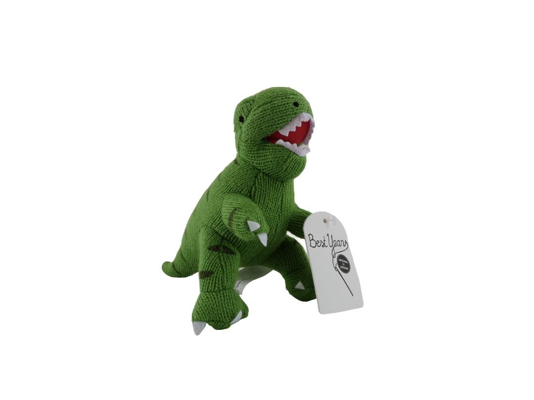 Dinosaur Rattle - T Rex Green