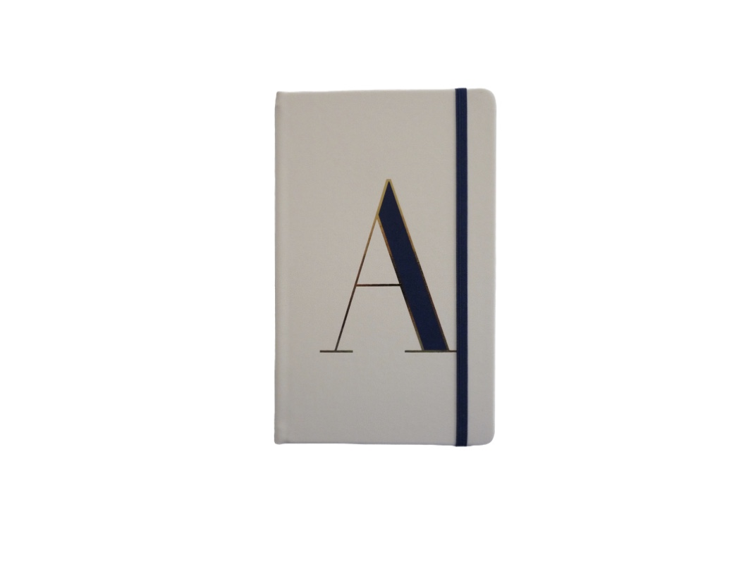 Kate Spade Alphabet Hardback Notebook - A