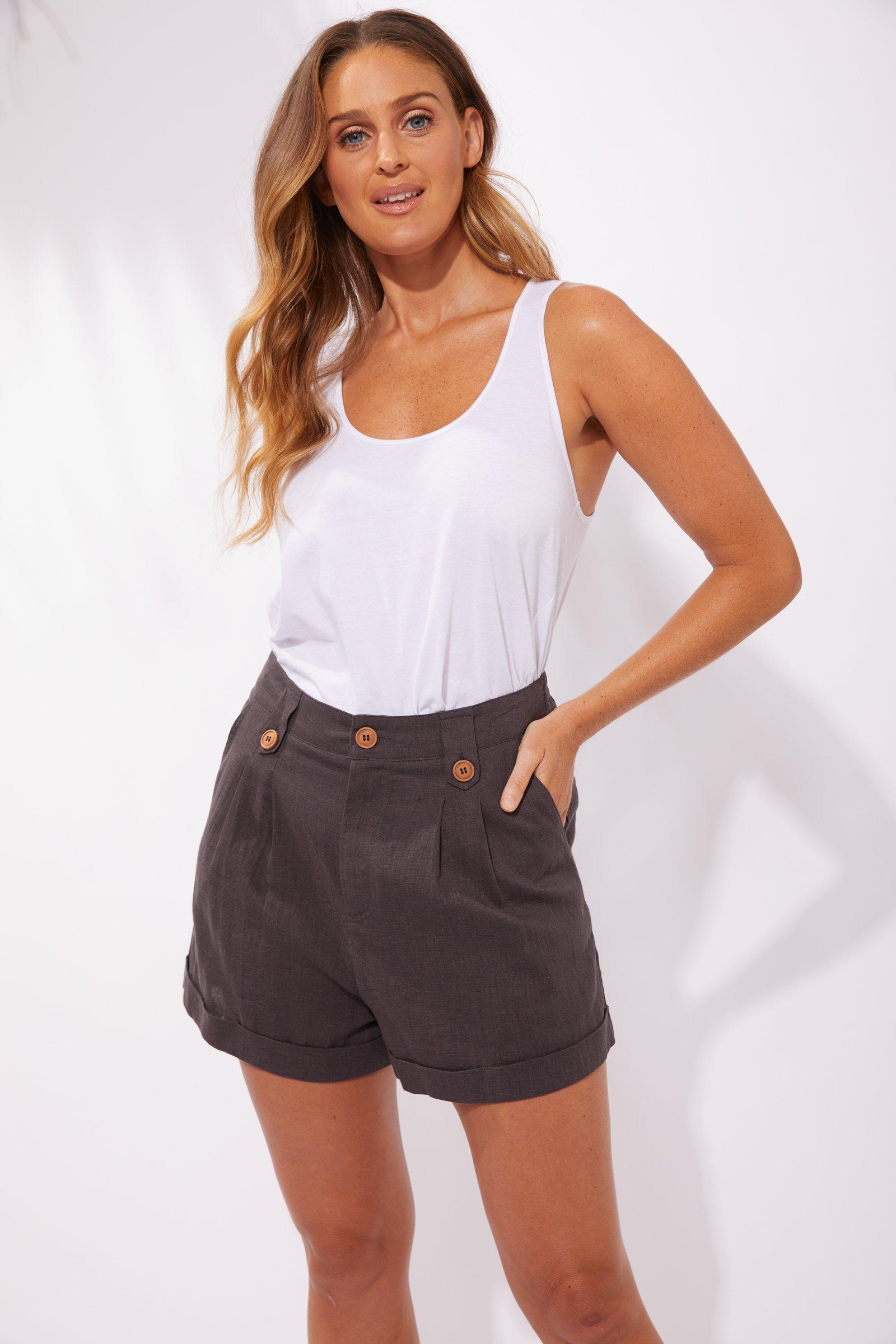 Haven Cuban Shorts - Flint