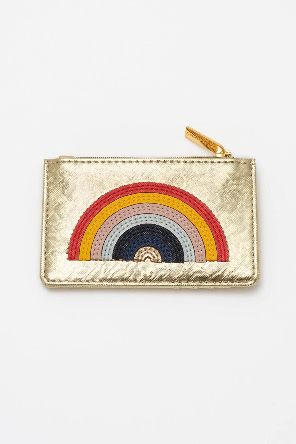 Estella Bartlett Card Holder - Applique 'RAINBOW' Gold