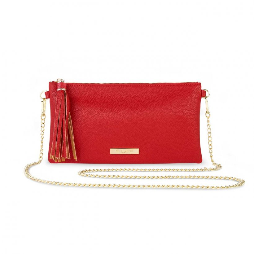 Katie Loxton Bag - Freya Tassel Crossbody Red
