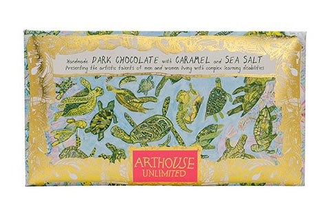Arthouse Unlimited Dark Chocolate - Turtles with Caramel and Sea Salt