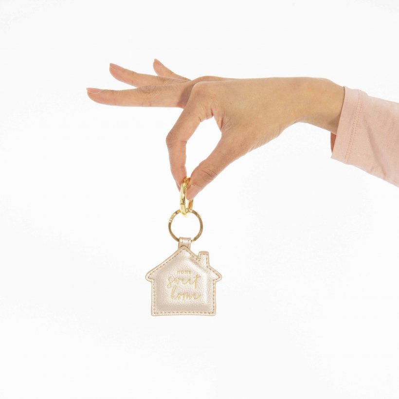 Katie Loxton Keyring - 'Home Sweet Home'