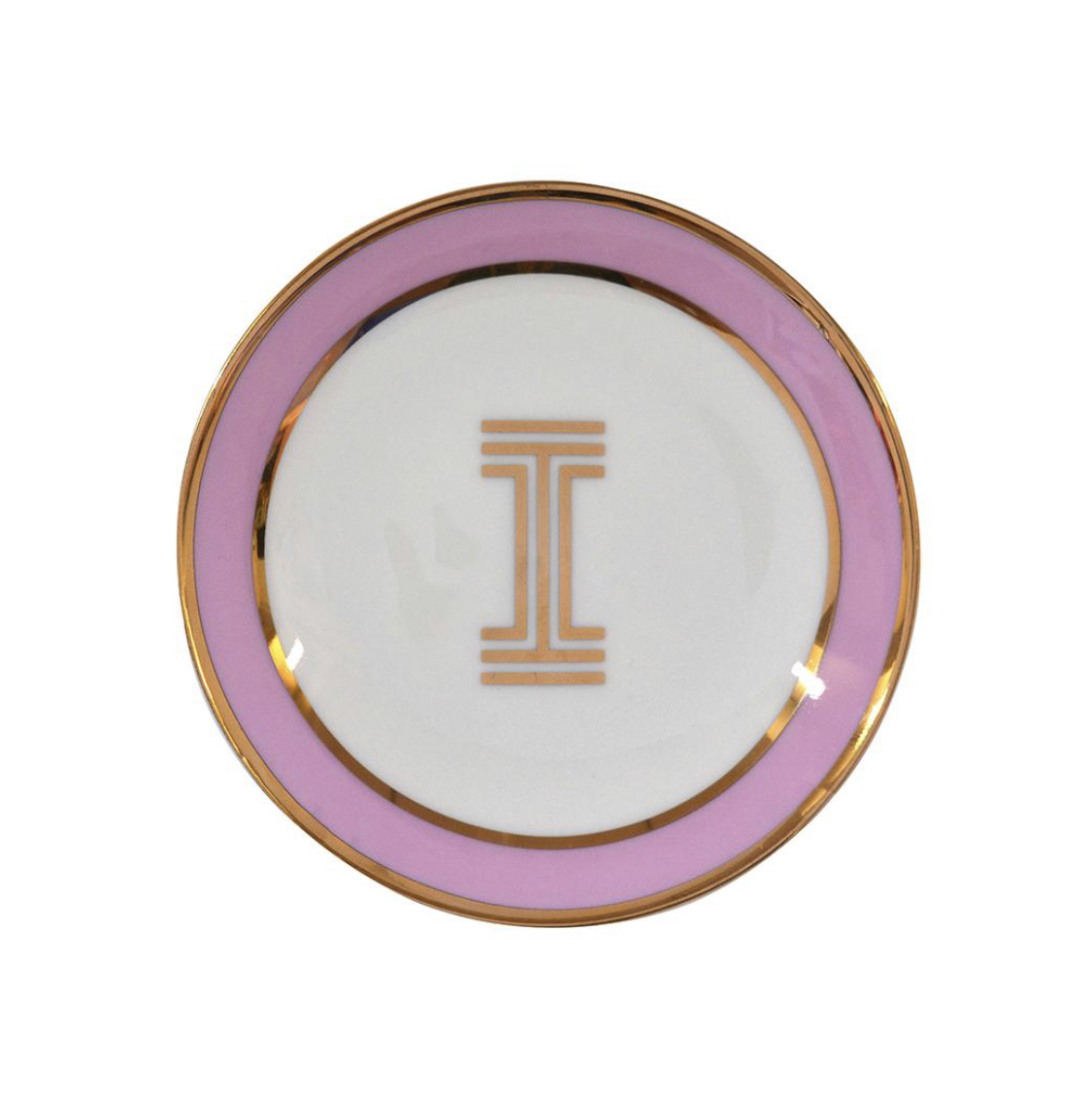 Bombay Duck Alphabet Trinket Dish - I
