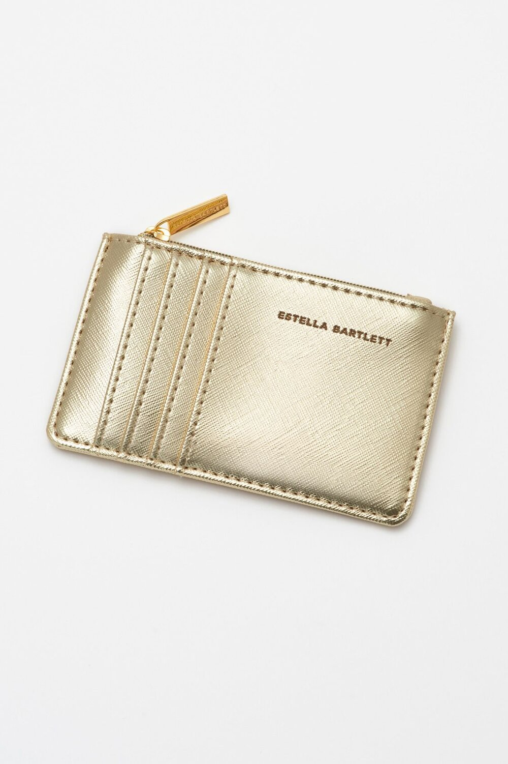 Estella Bartlett Card Holder - Applique 'RAINBOW' Gold