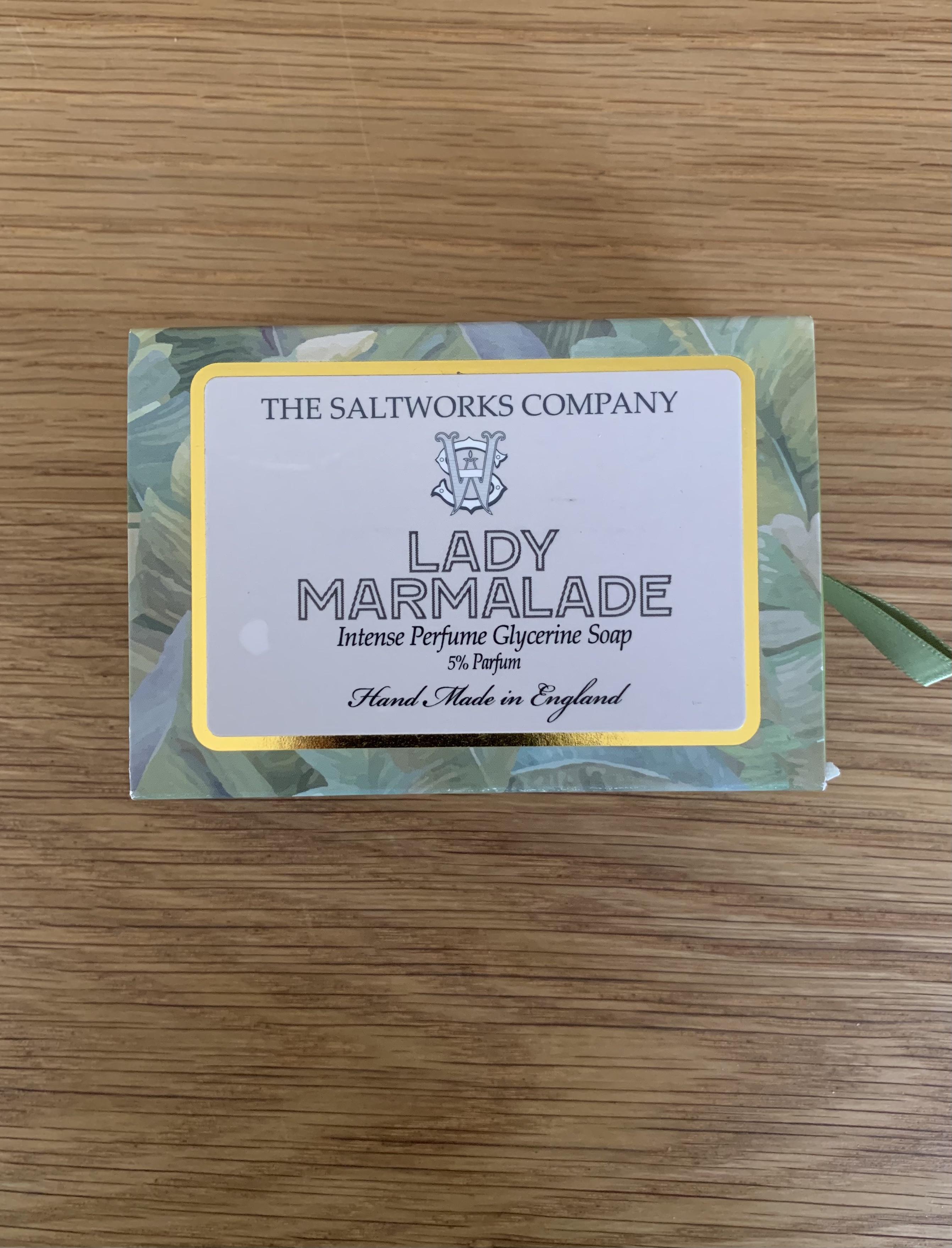 Saltworks Soap - Lady Marmalade