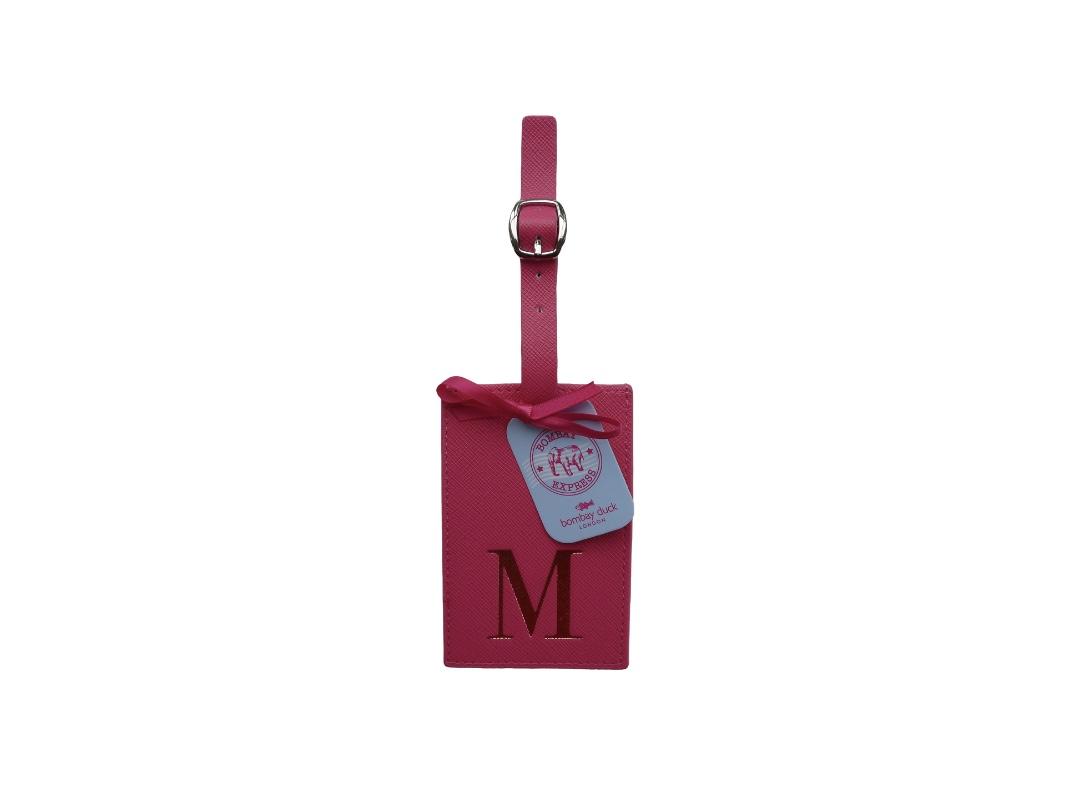 Bombay Duck Alphabet Luggage Tag - M