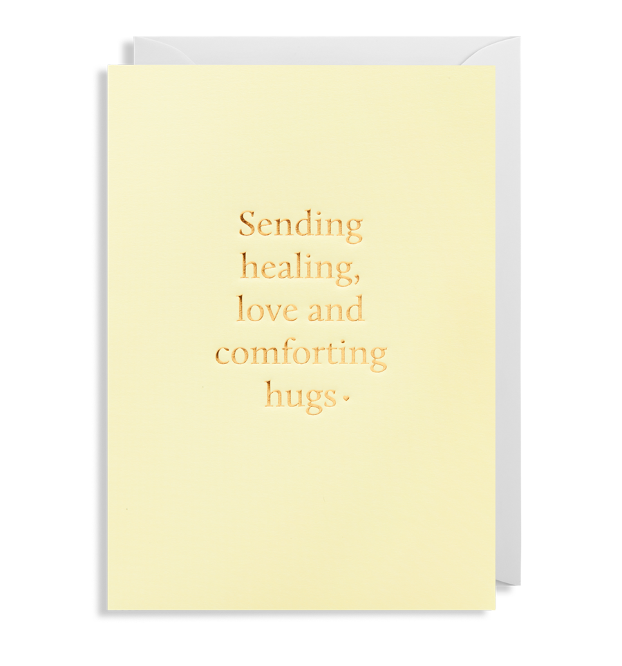 Card Thinking Of You Lagom - Sending Healing Love and Comforting Hugs 6211
