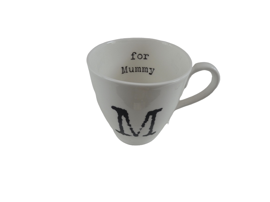 Glorious Mud Alphabet Mug - Mummy